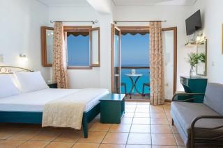 studio 3 libre sea view bedroom